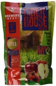 Home Brew Ohio Brewer's Best House Select Apple Cider Kit Review