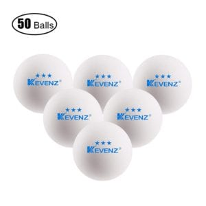 KEVENZ 3 Star Table Tennis Balls Review