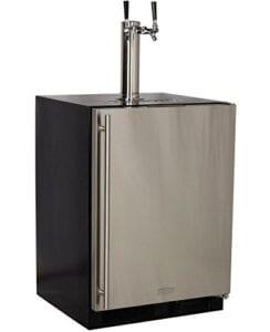 Marvel Built-In Kegerator Keg Dispenser Premium 2-Tap Direct Draw Kit Review