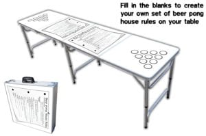 Professional Beer Pong Table With Optional Cup Holes Review