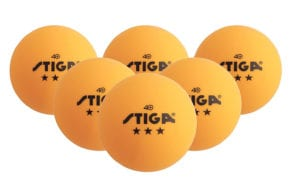STIGA 3 Star Superior Quality Orange Table Tennis Balls Review