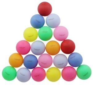 TADICK Beer Ping Pong Balls Assorted Color Review