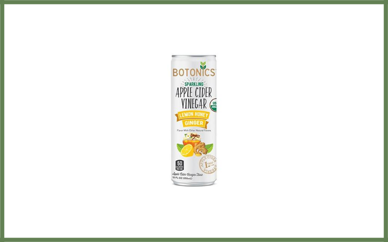 Botonics Sparkling Organic Apple Cider Vinegar Tonic Review