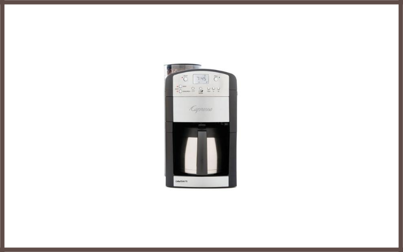 Capresso 465 CoffeeTeam TS 10-Cup Digital Coffeemaker Review