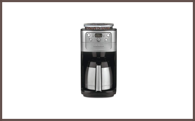 Cuisinart DGB-900BC 12-Cup Coffeemaker Review