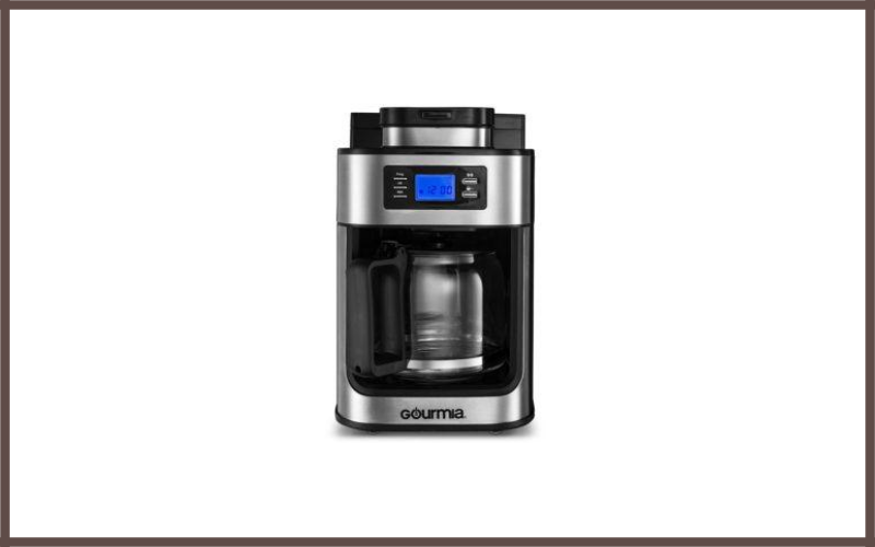 Gourmia GCM4700 Coffee Maker with Built-in Grinder Review