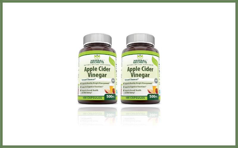 Herbal Secrets Apple Cider Vinegar Capsules Review