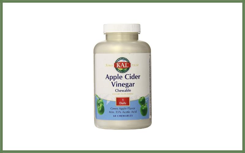 Kal Apple Cider Vinegar Chewable Tablets Review