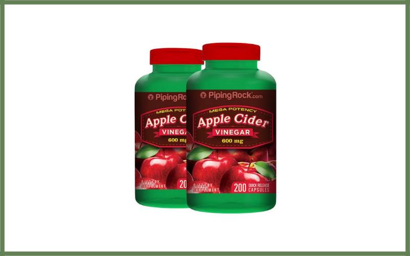 Piping Rock Mega Potency Apple Cider Vinegar Capsules Review