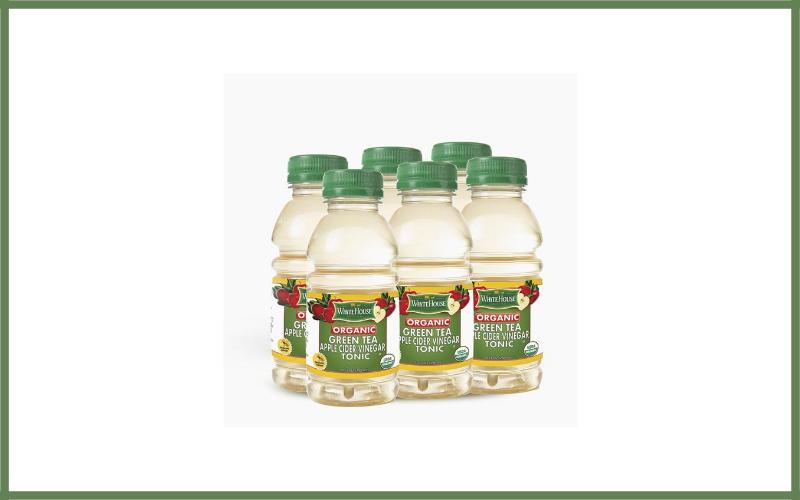 White House Organic Green Tea Apple Cider Vinegar Tonic Review
