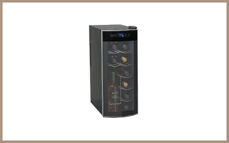 Avanti 12 Bottle Thermoelectric Counter Top Wine Cooler EWC1201 Review