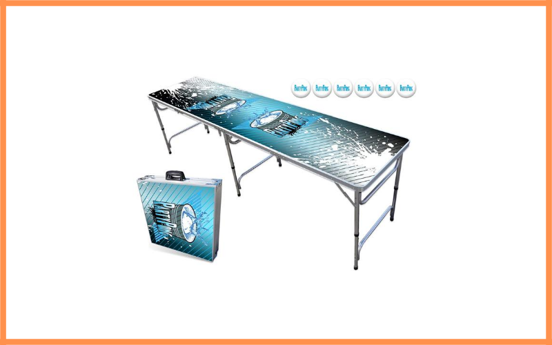Beer Pong Table With Dry Erase Surface Review
