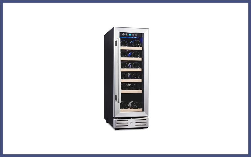Kalamera Wine Cooler 18 Bottle Stainless Steel Review