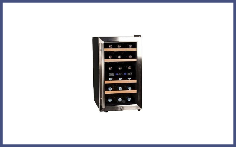 Koldfront 18 Bottle Free Standing Dual Zone Wine Cooler Review