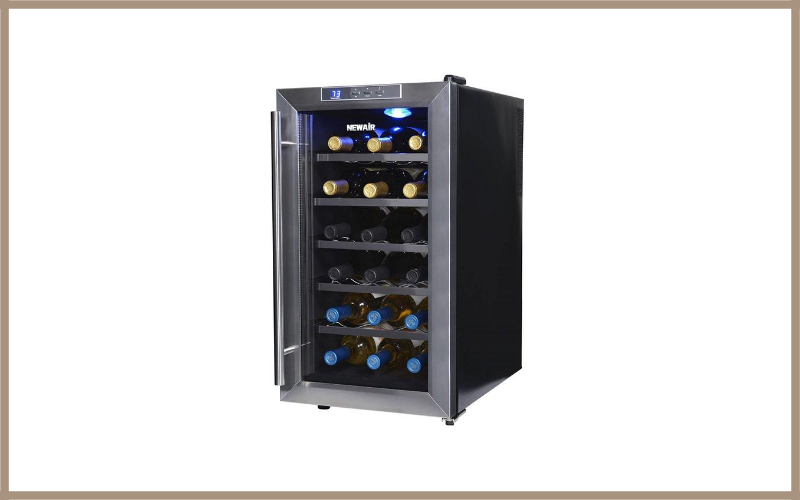 Newair AW 18E 18 Bottle Thermoelectric Wine Cooler Review