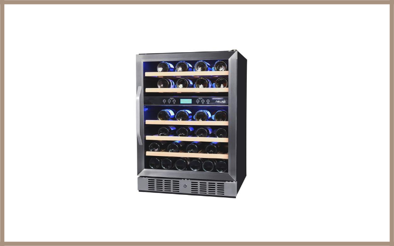 Newair AWR 460DB Dual Zone 46 Bottle Wine Cooler Review