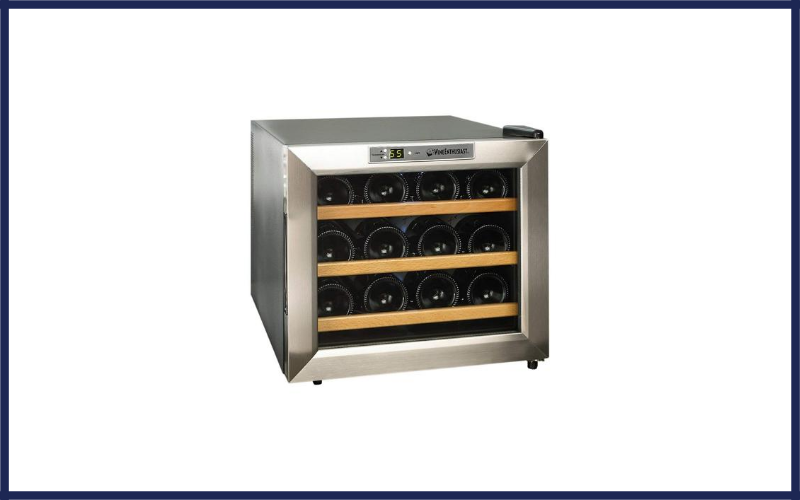 Wine Enthusiast Stainless Steel 12 Bottle Wine Cooler Review