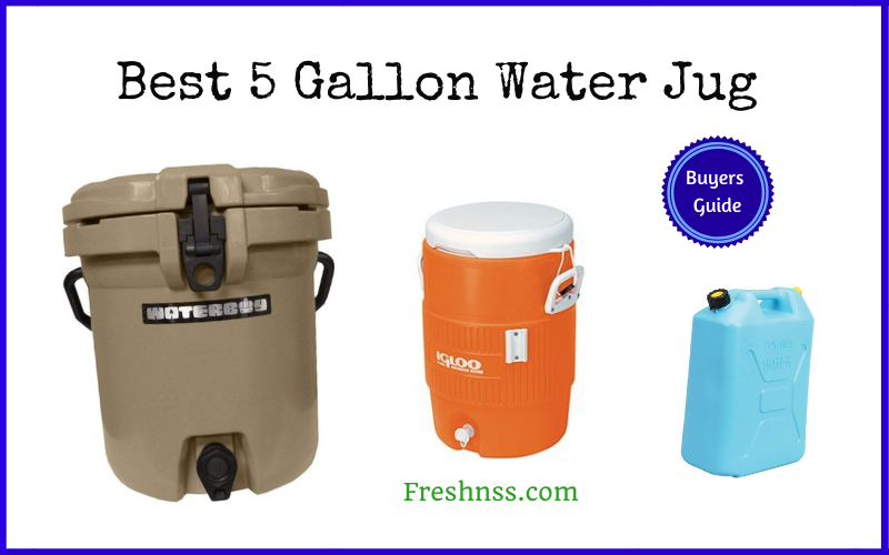 Best 5 Gallon Water Jug (2020 Buyers Guide)