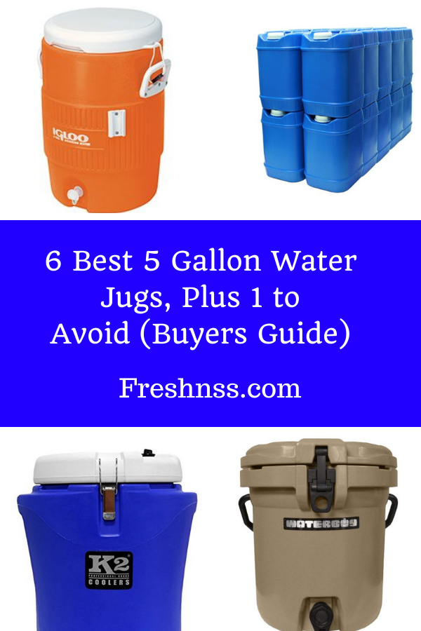 Best 5 Gallon Water Jug