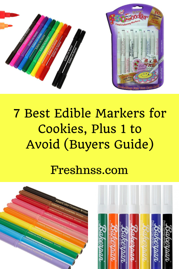 Best Edible Markers for Cookies Review