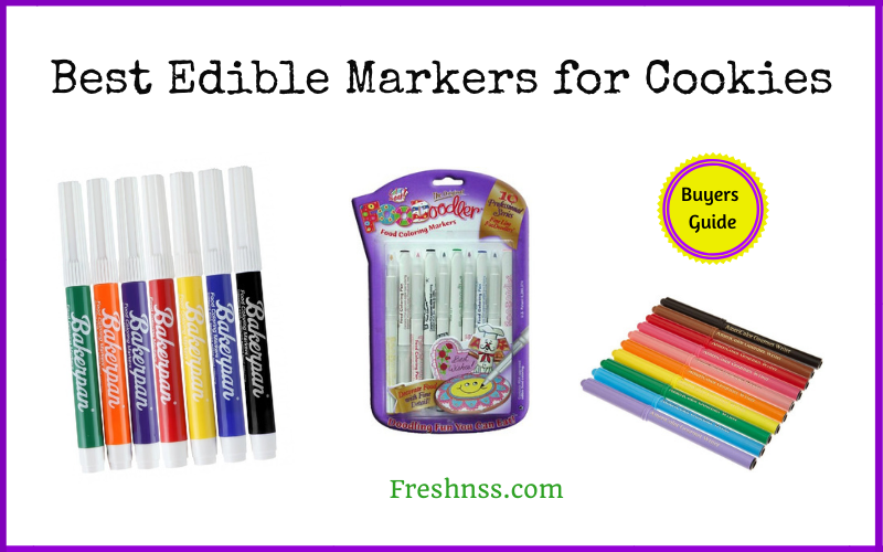 Best Edible Markers for Cookies (2020 Buyers Guide)