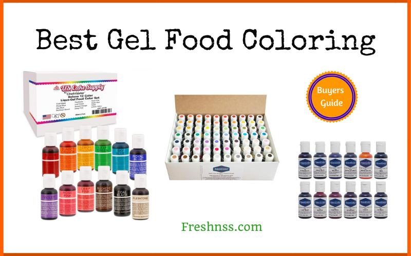 Best Gel Food Coloring Reviews (2020 Buyers Guide)