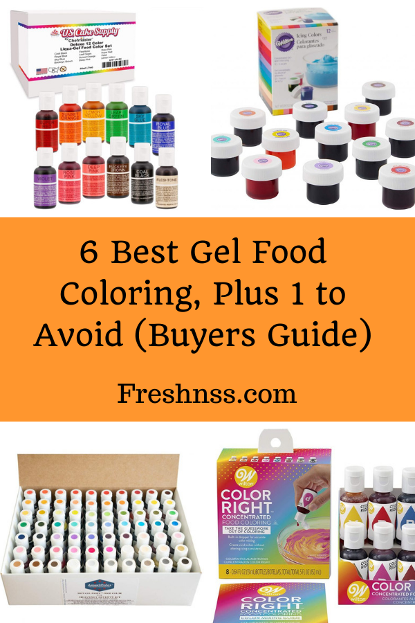Best Gel Food Coloring