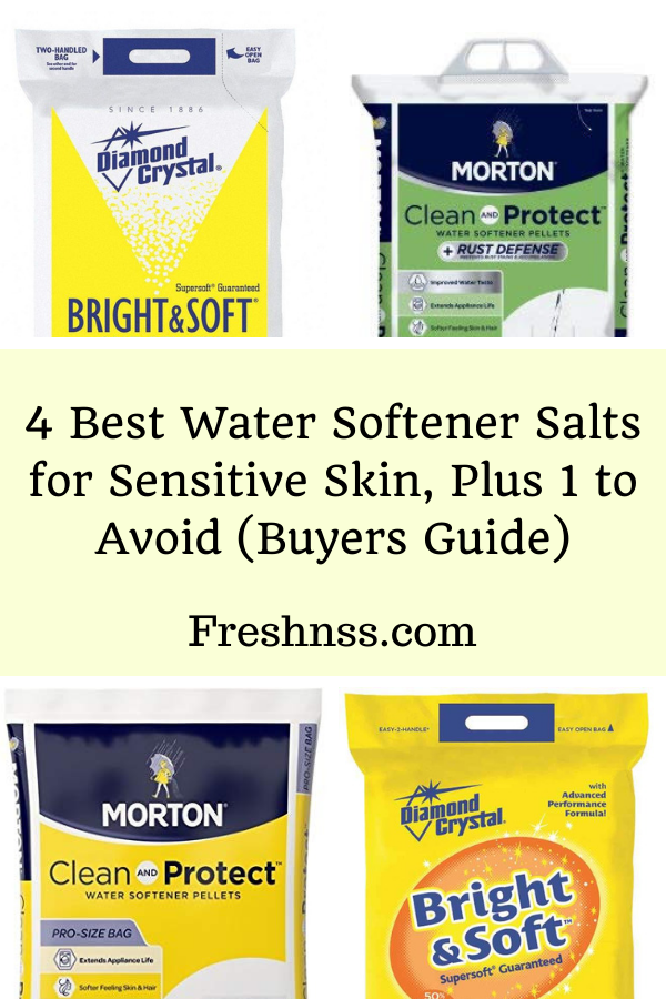 Best Water Softener Salts for Sensitive Skin