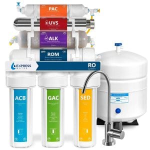 Express Water Alkaline Ultraviolet Reverse Osmosis Water Filtration System