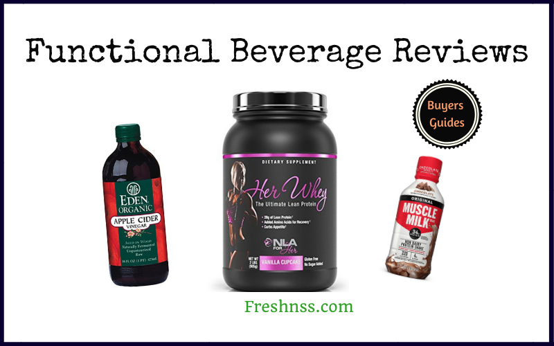 The Best Functional Beverage Reviews and Buyers Guides of 2020