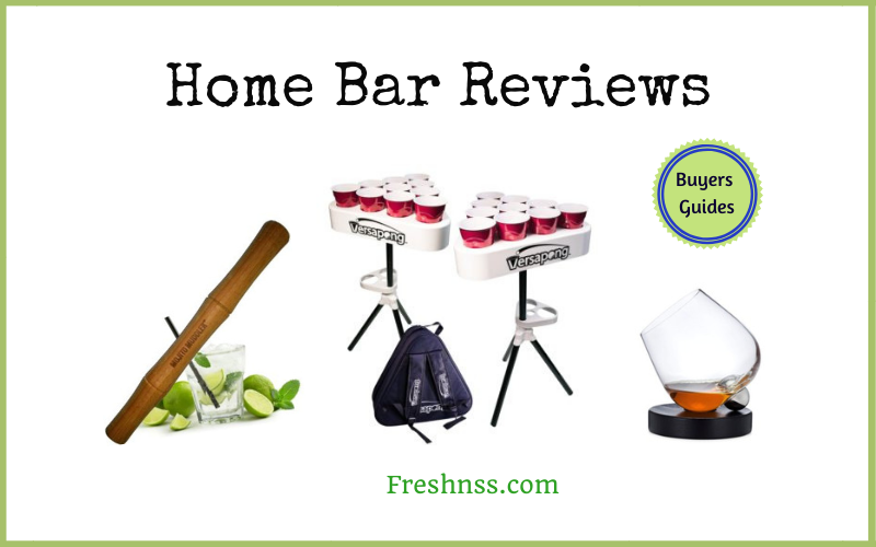 The Best Home Bar Reviews and Buyers Guides of 2020