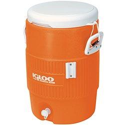 Igloo 5-Gallon Orange Cooler w/Seat Lid Review