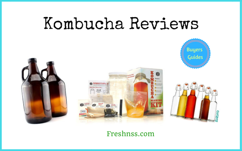 The Best Kombucha Reviews and Buyers Guides of 2020