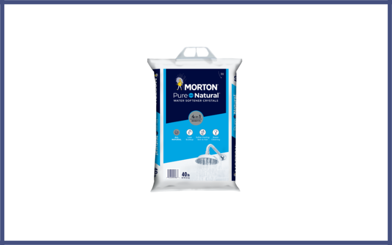 Morton Pure AND Natural Water Softening Crystals Review