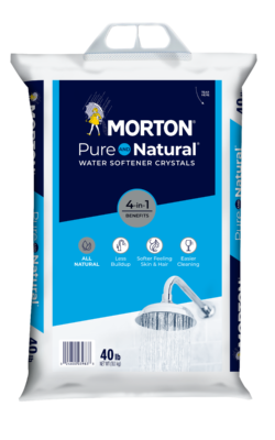 Morton Pure AND Natural Water Softening Crystals