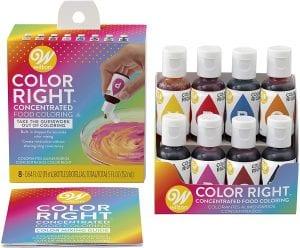 Wilton Color Right 8-Base Color Kit Review