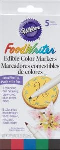 Wilton W609105 Food Writer Markers Set of 5 Review