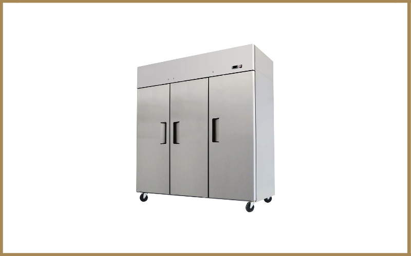78″ Triple 3 Door Side By Side Stainless Steel Reach-in Commercial Refrigerator by WP Restaurant Fridges Review