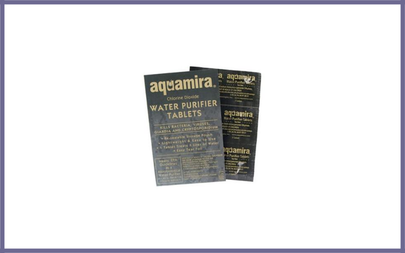 Aquamira Water Purification Tablets Review