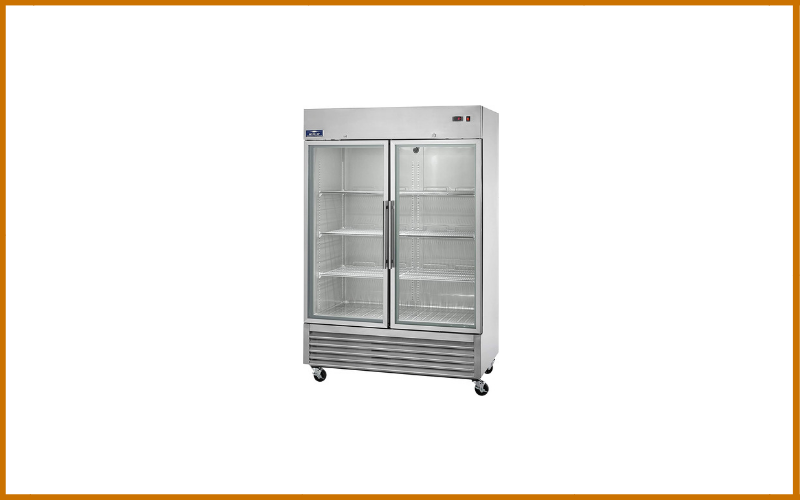 Arctic Air AGR49 2 Door Glass Reach-In Refrigerators Stainless Steel Review
