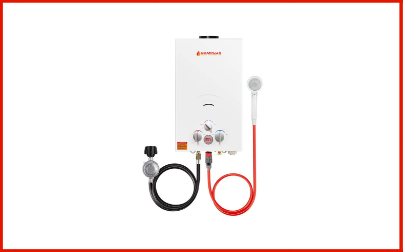 Camplux 10L Outdoor 2.64 GPM Digital Display Portable Propane Gas Tankless Water Heater Review