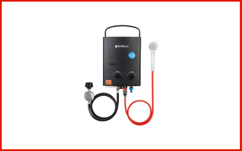 Camplux 5L 1.32 GPM Outdoor Portable Propane Tankless Water Heater Review