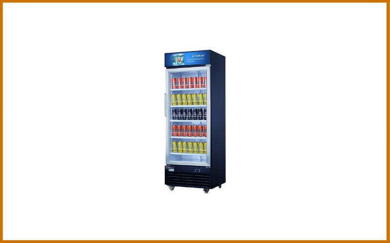Dukers DSM-15R 14.7 Cu Ft Commercial Display Cooler Merchandiser Refrigerator Review