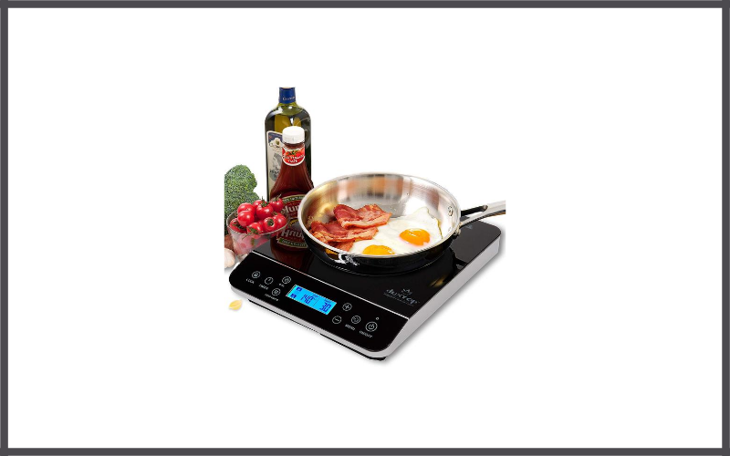 Duxtop LCD 1800-Watt Portable Induction Cooktop Countertop Burner 9600LS Review