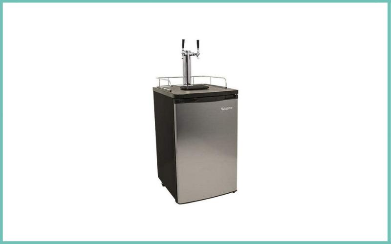 EdgeStar KC2000SSTWIN Full Size Stainless Steel Dual Tap Kegerator Draft Beer Dispenser Review