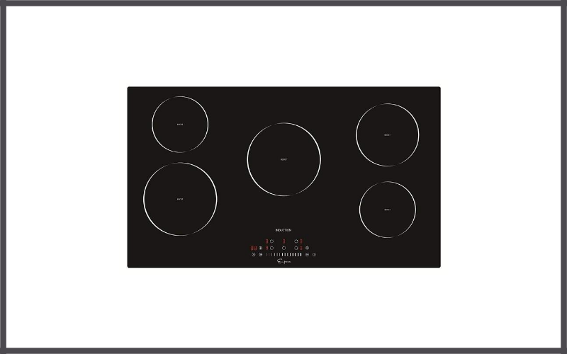 Empava 36″ Induction Cooktop Electric Stove with Black Vitro Ceramic Smooth Surface Glass Review