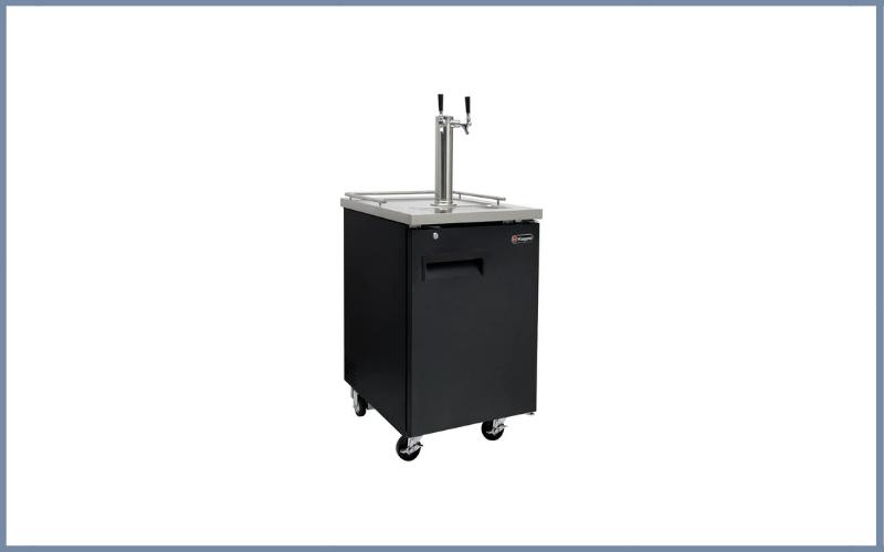 Kegco HBK1XB-2 Two Faucet Commercial Homebrew Kegerator Keg Beer Dispenser Black Review