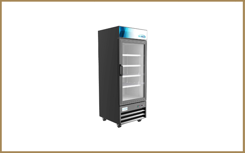 Koolmore 29″ Commercial Glass 1 Door Display Refrigerator Merchandiser Upright Beverage Cooler with LED Lighting Review