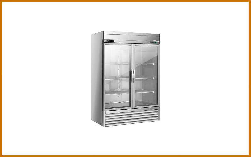 Maxx Cold MXSR-49GD Two 2 Glass Door Reach-In Upright Commercial NSF Refrigerator Cooler Review