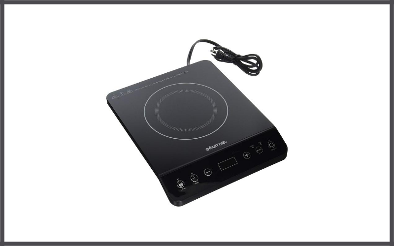 Multifunction Portable 1800 Watt Induction Cooker Cooktop by Gourmia Review